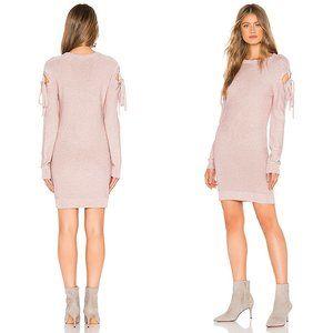 Lovers + Friends Ezra Tie Sweater Midi Dress